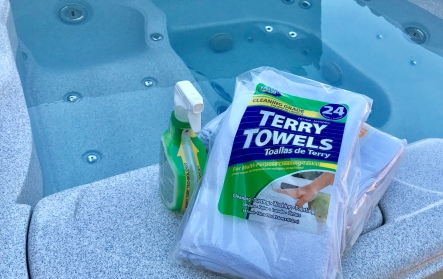 Cleaning towels, Intex, Terry Towels, Hot Tub