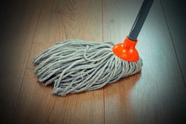 Intex DIY - Mopping a hardwood floor